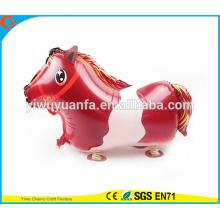 2016 горячая распродажа прогулки Pet воздушный шар игрушки воздушный шар фольги лошадь для Christms подарков