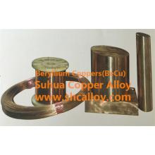 Good Bearing Beryllium Kupferlegierung Platte