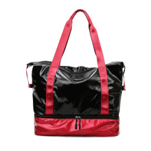 Hot Sale Fashion Travel Ladies Multipurpose Women Handbag Beach Bag Tote with Inner Zipper Pocket