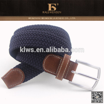 Hot Selling Men's New Style Leisure custom knitted belts