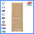 JHK-017 Natural Red Walnut High Quality  Moulded Interior Door Skin Panel