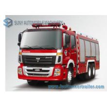 Camion de combat d'incendie de réservoir d'eau et de mousse de Foton 12000L 3axles