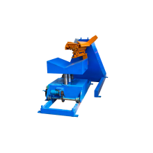 Hydraulic automatic material stacking machine