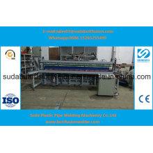 Dobladora automática para la hoja plástica Zw6000 de 6000m m