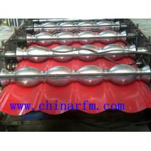 Machine de formage de rouleaux de tuiles en acier de couleur Ibr