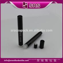 SRS cheap no leakage plastic roll on bottle , 6ml press airless mini plastic bottles