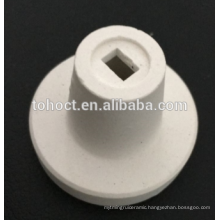 Alumina ceramic cuplocks for holding ceramic fibre blankets on place