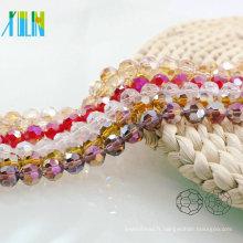 A5000 # -3 AB couleur 32 à facettes ronde de football à bas prix en verre cristal bijoux fournitures perles