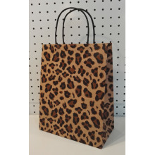 Printed Brown Art Paper Bags With Handles