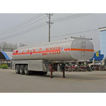 31Tons Tri-axle Chemical Liquid Transport Semi Trailer