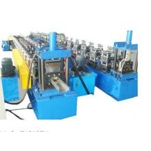Residental steel door frame roll forming machine