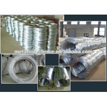 hot sale zinc coated galvanized iron wire supplier