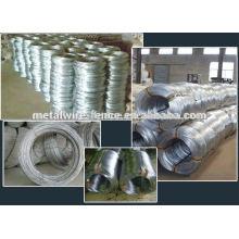 Fornecedor quente do fio galvanizado do ferro do zinco da venda