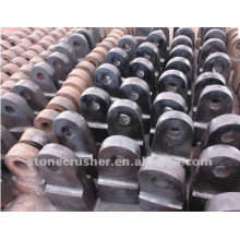 2012 new high manganese crusher alloy hammer head