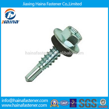 Hexagon Head Self Drilling Screws with EPDM Washer
