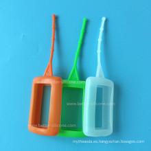 Estuche portátil de silicona para teléfono celular / botella de perfume
