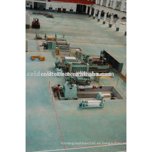 Máquina de corte longitudinal para acero inoxidable