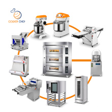 Golden Chef China Commercial Bakery Equipment Bread Cutter Machine Automatic Bread Baker Machine