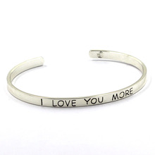New Jewellery Sterling Silver Customized Bracelet Bangle