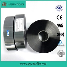 china made super quality metallized polypropylene safety film