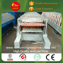 Double Layer Cold Pressure Tile Machine for Corrugated and Dovetail Panels