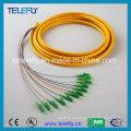 LC / APC 12 Fibra Óptica Jumper, Jumper Cable