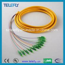 Перемычка LC / APC 12, оптоволоконная перемычка, соединительный кабель