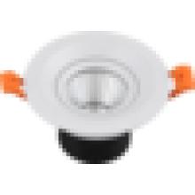 El mejor vendedor 3W 5W COB llevó la lámpara llevada downlight 3w del punto del downlight