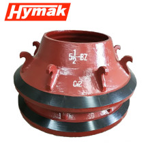 crusher parts small rock crusher spare bowl liner price
