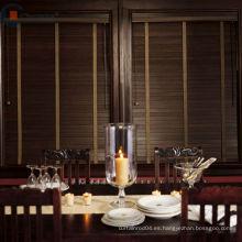 Persianas de madera eléctricas limpieza / persianas de acero