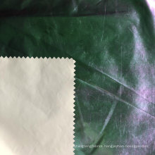 380t Polyester Taffeta Fabric with Colorful Membrane Gold Printed