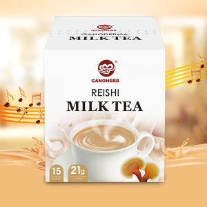milk-tea-mixed-with-reishi-mushroom-ganoderma-extract-powder-instant-tea-powder
