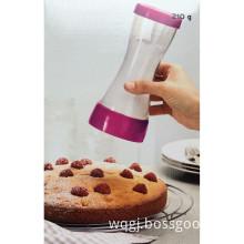 plastic flour sugar powder colander for baking tool & pastry