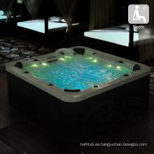 Bañera de hidromasaje de acrílico al aire libre