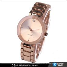 Relógio de superfície convexo para relógio simples para mulheres