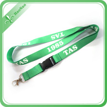 Popular 2016 Heat Transfer Printed Soft Lanyard with ID Card Holder