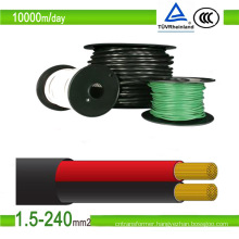 Australia Standard100m/Roll PV1-F Single Core Solar Cable 4mm2 6mm2
