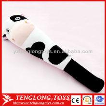 Congratulou-se com preço de fábrica macio vaca brinquedos massagem de pelúcia