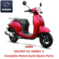 Znen ZN150T-51 HONEY 2 ricambio scooter completo