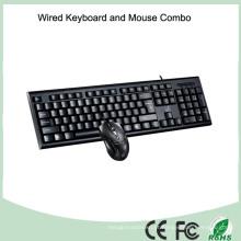 Acessórios de computador com fio teclado USB e mouse óptico (KB-1888C)