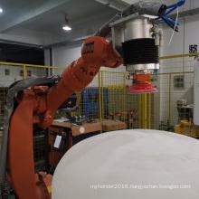 Quartz crucible polishing system