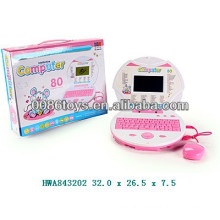 Kids Education Toy 80pcs functions intelligence computer toy with mouse