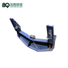 Tower Crane Yoke for Telescoping Hydraulic System