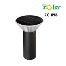 Modern design solar pillar light, solar fence post light, aluminum solar bollard light