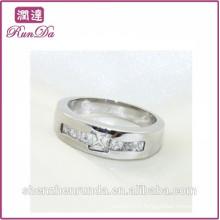 Alibaba vente en gros anneaux en acier inoxydable bijoux en gros