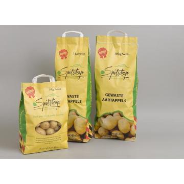 Sac en papier personnalisé pour l'emballage des légumes