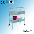Stainless Steel Hospital Medical Treatment Trolley (Q-7)