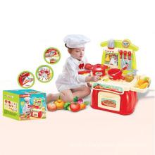 Горячая Продажа Электрический Б/О игрушки Игровой набор кухня со звуком и светом (10221874)