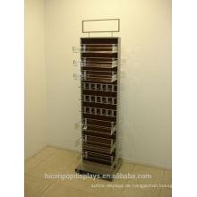 Erschwingliche und attraktive Lösungen, um Ihre Bedürfnisse Acrylic Case Slat Wall Retail Merchandise Display