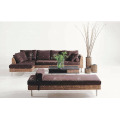 Best selling latest design Water Hyacinth Sofa Set for Indoor Home Furniture